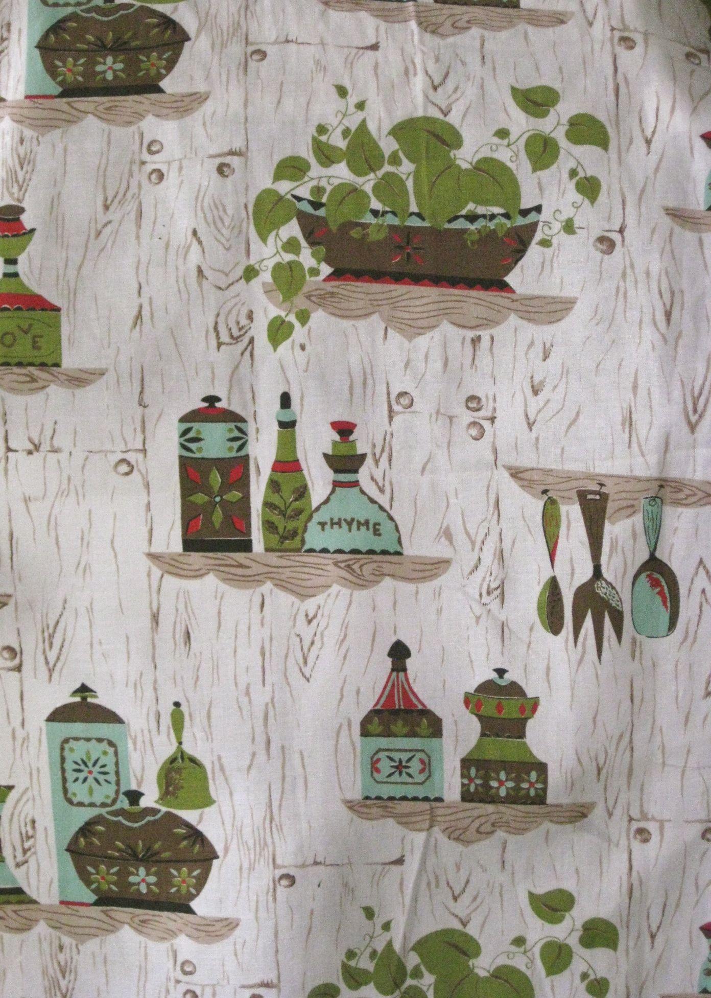 Magnificent Retro Kitchen Curtain Fabric Decorating Ideas Vintage Download Free Architecture Designs Ferenbritishbridgeorg