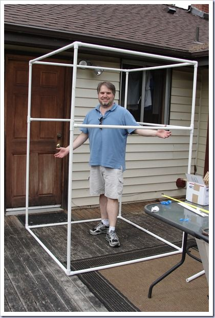 Photobooth frame but would make a DIY Camp shower Photo