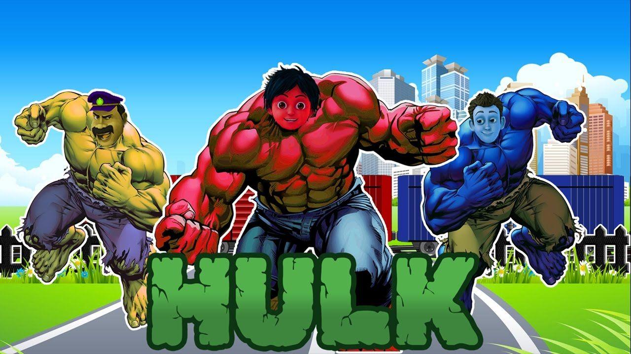 Uncategorized Hulk Videos For Kids shiva antv transform into hulk train colors video education for kids and