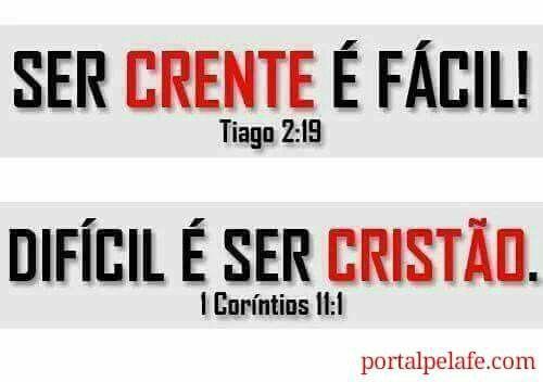 Crente e Cristão