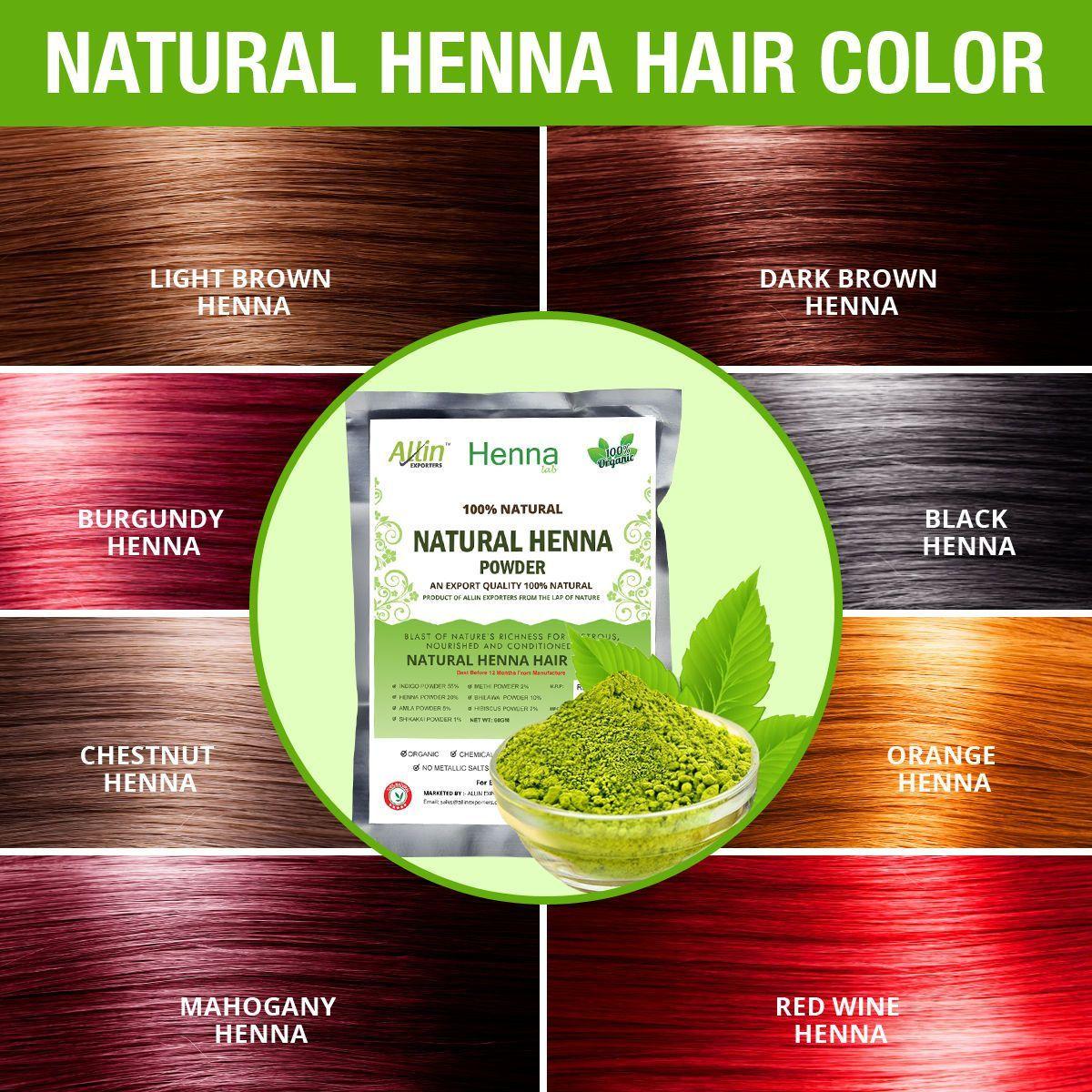 Henna Hair Color Mehndi For Men Women 100 Chemical Free Organic