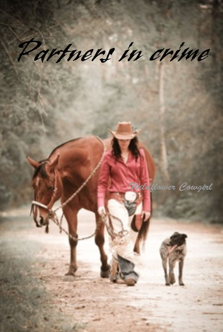 Quotes About A Girl And Her Dog An Old Cowgirl Was Riding Her Trusty Horse Followedher
