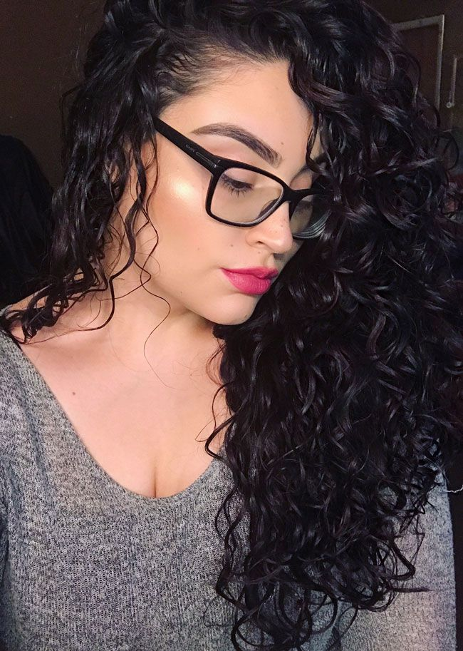 How Amanda Gets Her Type 2c Wavy Hair to Look Like This