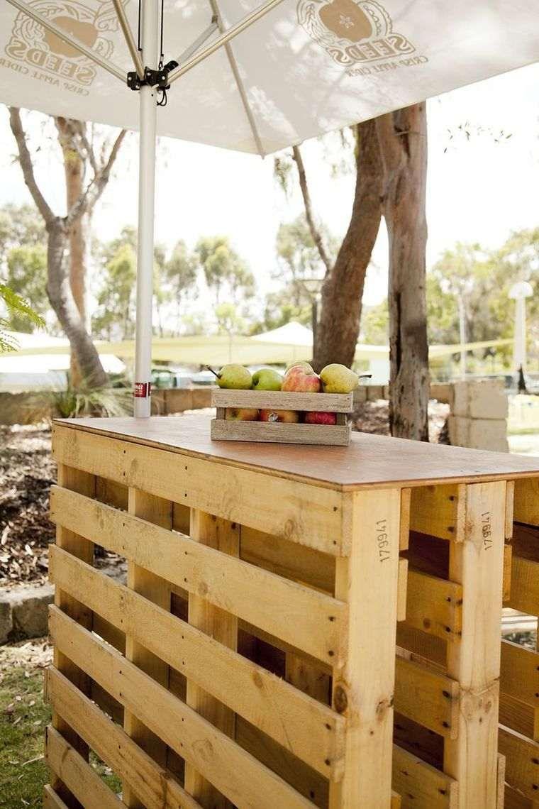 fabriquer un bar extrieur en bois - Fabriquer Un Bar Exterieur