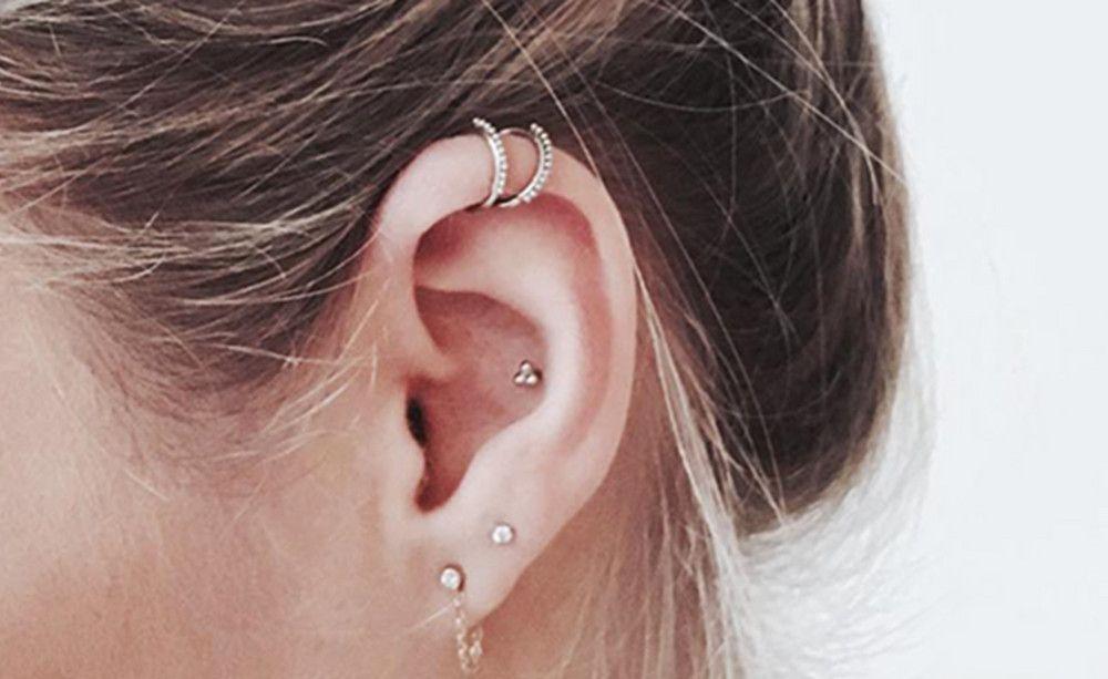 Für alle, denen ein Septum zu krass ist: Dezente Ohren