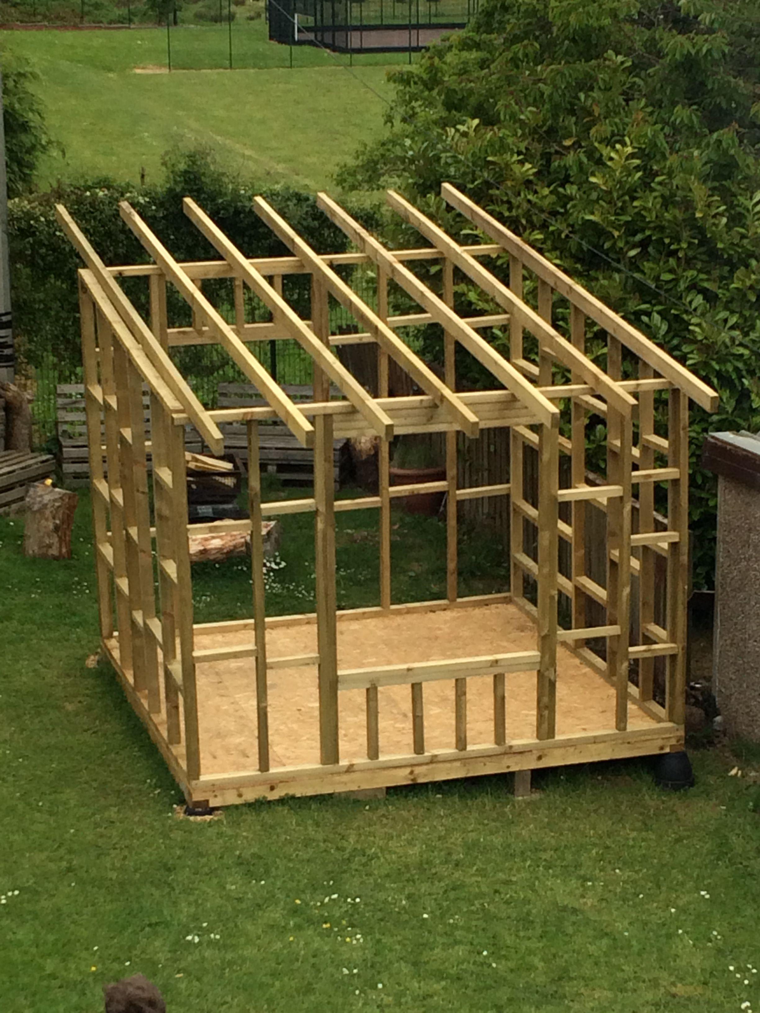 Framework For Garden Room Shed Building Plans Backyard Sheds