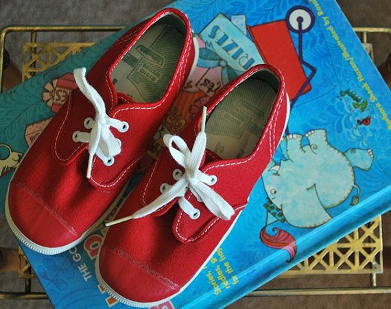 e4703c043a522 Vintage 1960s Children's Canvas PF Flyers Shoes Size 11.5 | Cool ...