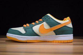 sneakers for cheap 28722 6b40c Mens Womens Skate Shoes Nike Dunk Low Pro SB Legion Pine Kumquat Flat Opal  304292 383