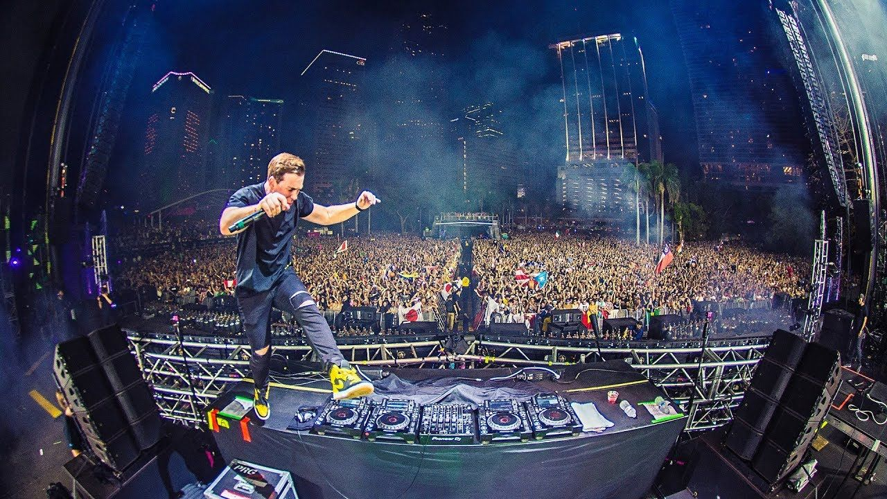 Hardwell Live At Ultra Music Festival Miami 2018 With Images