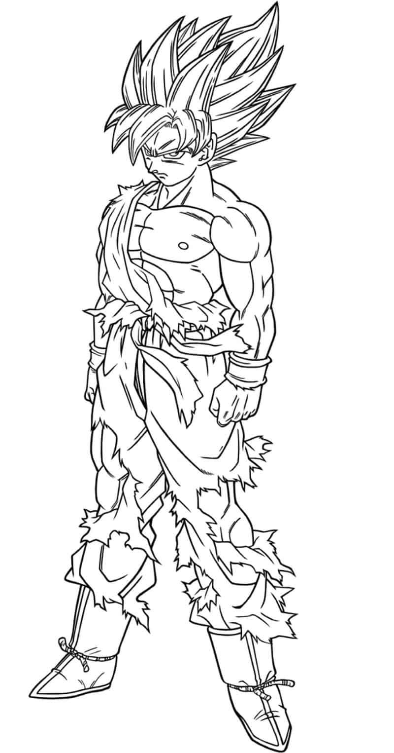 Dragon Ball Z Coloring Pages Free Coloring Sheets Dragon Ball Image Dragon Coloring Page Dragon Ball Tattoo