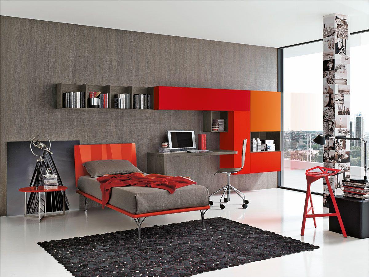 Camere Da Letto Giovani : Composizione t geometrie per un istinto estetico letto