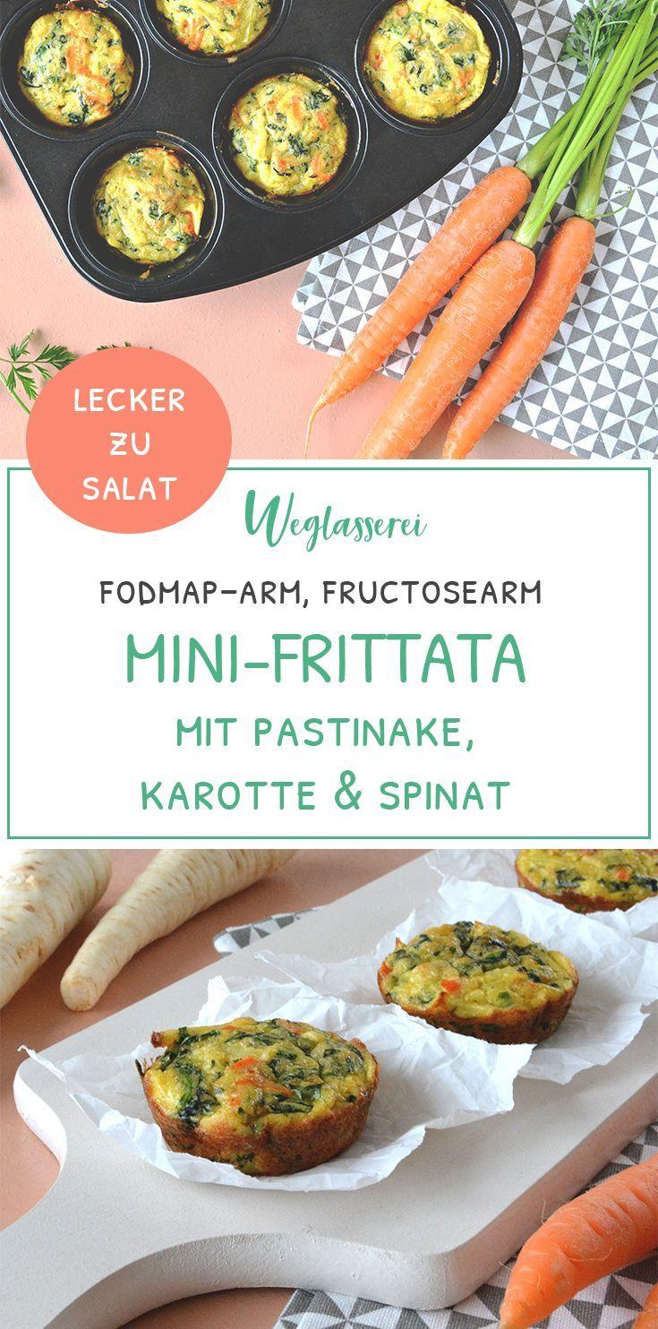 Kleine Karotten-Pastinaken-Spinat-Frittata