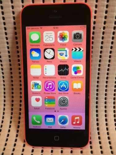 Iphone 5 C Rosa Usado 4 950 00 Iphones Telefonos Y Accesorios Iphone 5