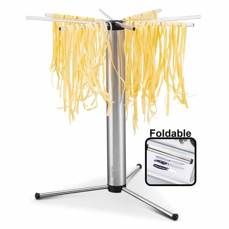Drying Pasta On A Rack