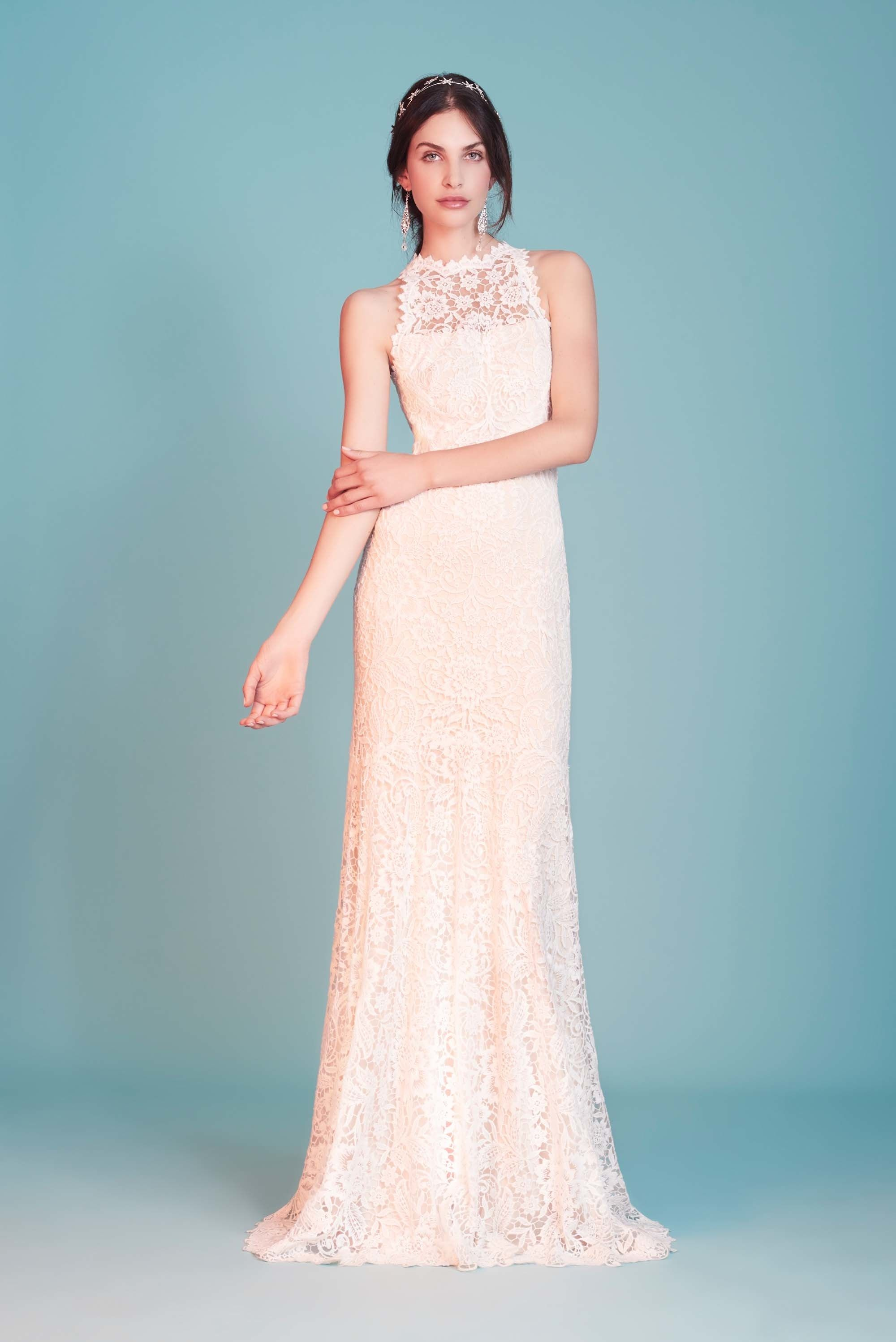 Tadashi Shoji Bridal Spring 2018 Fashion Show   Novios