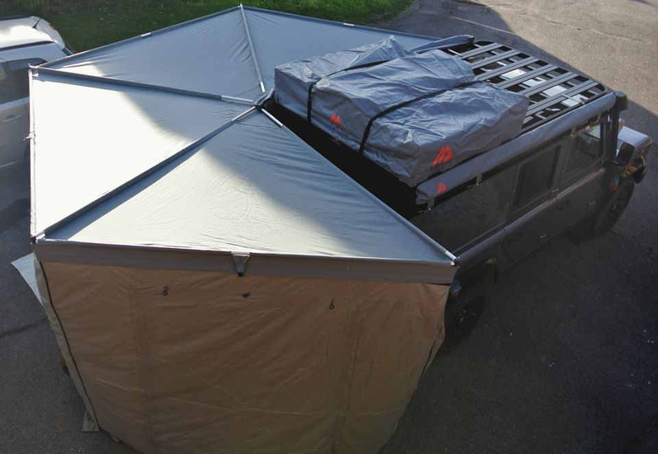 270 Degree Awning Caravanes Pinterest Land Rovers Jeeps And 4x4
