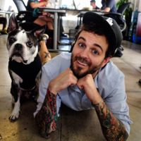 Curtis Lepore: Curtis Lepore and Buster Beans. I love these two!