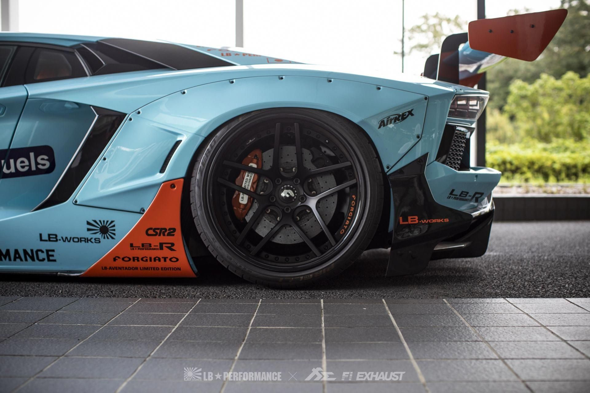 edition body kit paired with exclusive Fi EXHAUST sound. Liberty Walk X Wataru Kato X SKY FORGED X