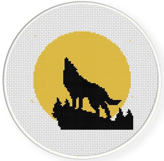 Looking for your next project? You're going to love The Wolf Cross Stitch Pattern by designer teamembro3703945. - via @Craftsy