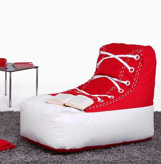 Cooler Sitzsack Chuck Brava | Gemütlicher Sitzsack Im Chucks Style   Der  Darf In Keinem Jugendzimmer