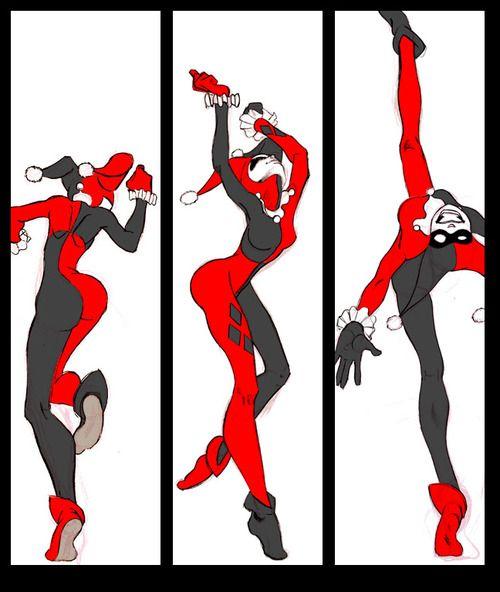 Harley Que Baila by allanced #HarleyQuinn #DC