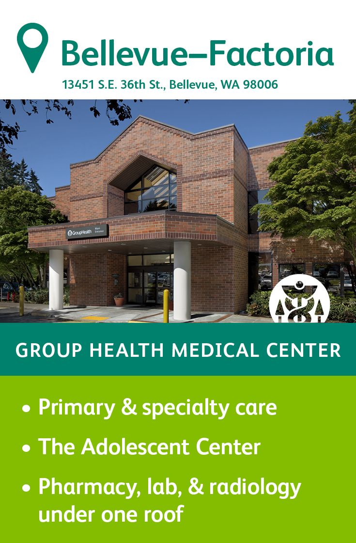 The Group Health Factoria Medical Center In Bellevue Specializes