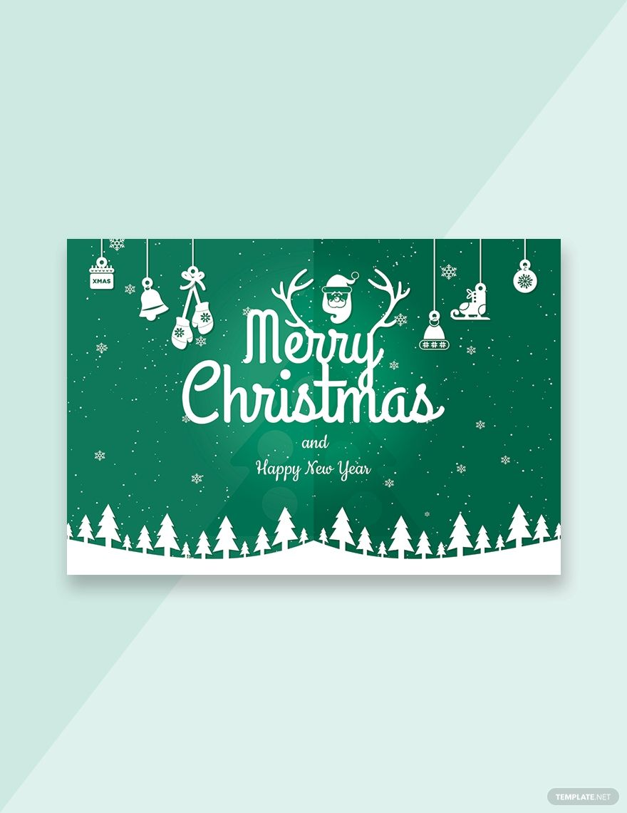 Free Modern Merry Christmas Card Template Word Psd Apple Pages Publisher Outlook In 2020 Merry Christmas Card Christmas Card Template Modern Christmas Cards