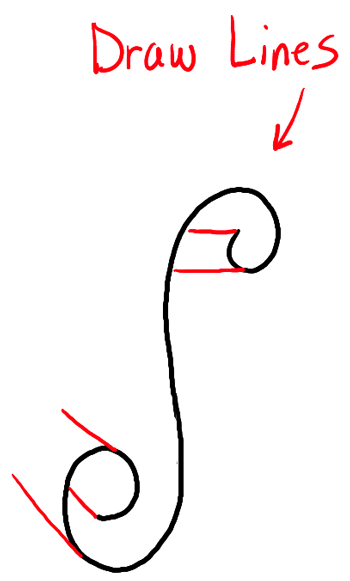 How To Draw Paper Curls Or Curled Paper Scrolls Or Banners In Easy Steps Tutorial How To Draw Step By Step Drawing Tutorials Banner Drawing How To Draw Steps Step