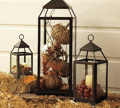 Decorating With Pottery Barn Lanterns - High School Mediator