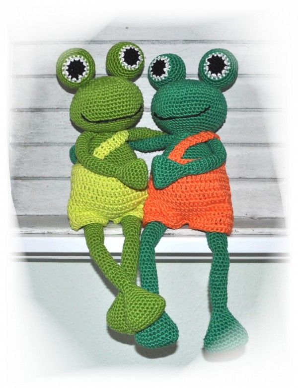 E Book Häkelanleitung Sei Kein Frosch Frosch Häkelfrosch