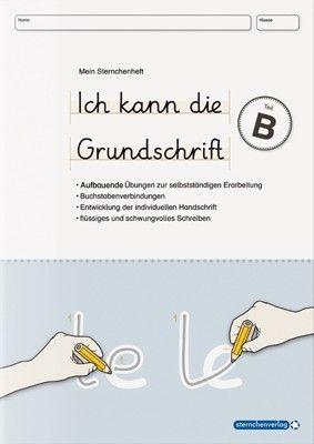 ich kann die grundschrift teil b grundschule deutsch unterricht schule und deutsch schreiben. Black Bedroom Furniture Sets. Home Design Ideas