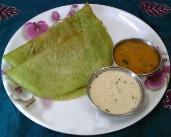 Vallarai Keerai Dosai A healthy and nutritious breakfast dish. #recipe