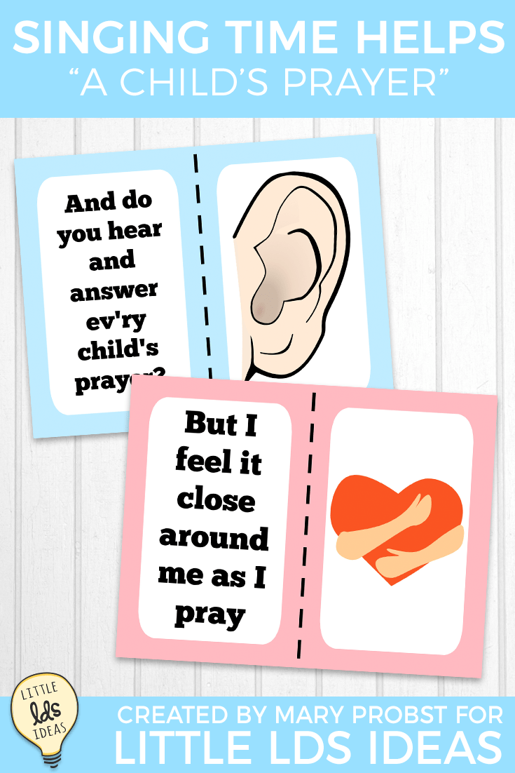 August 2018 Singing Time Idea A Child S Prayer Prayers For Children Singing Time Lds Primary Singing Time You may be interested in: pinterest