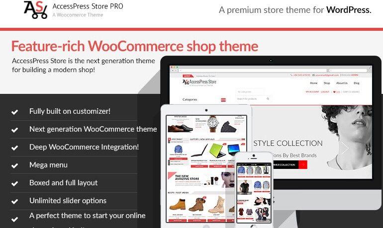 AccessPress Store Pro: Perfect WooCommerce WP Theme