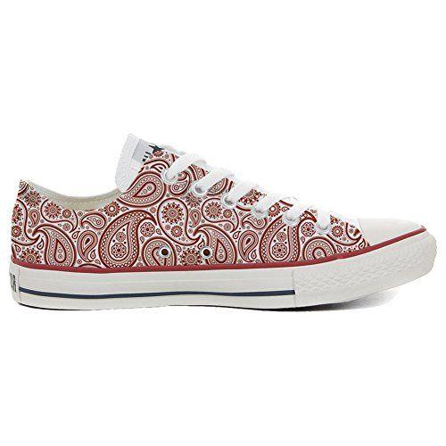 Converse All Star Slim personalisierte Schuhe (Handwerk Produkt) Mosaic  32 EU