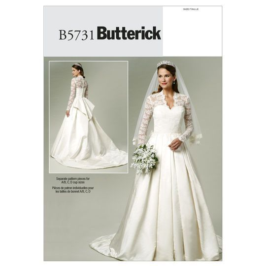 Butterick Pattern B5731 (6-8-10-12-14) | Products | Pinterest