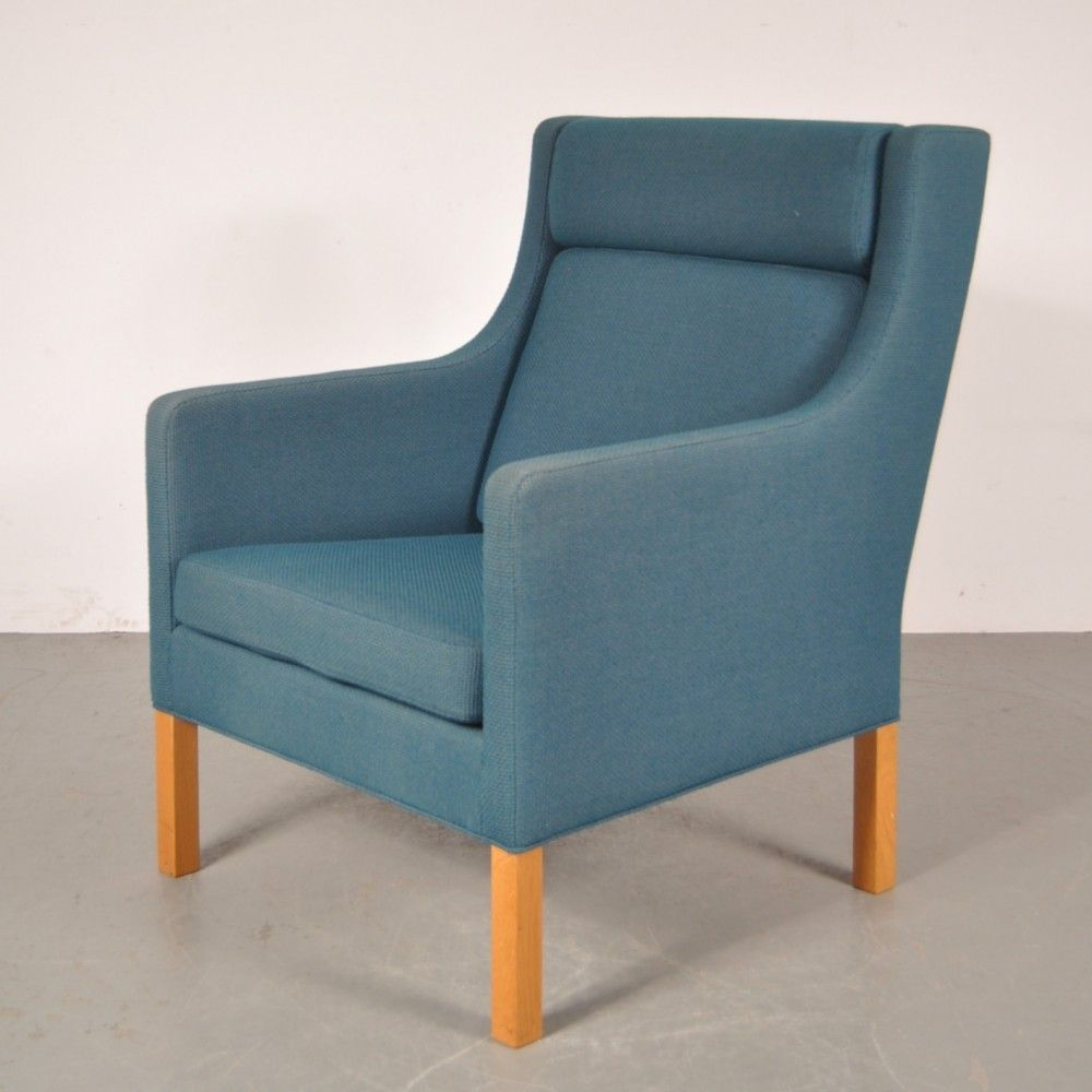 For Sale Arm Chair By Børge Mogensen For Fredericia Stolefabrik 1960s Vntg Vintage Armchair Chair Mid Century Style Furniture
