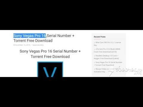 torrent sony vegas pro