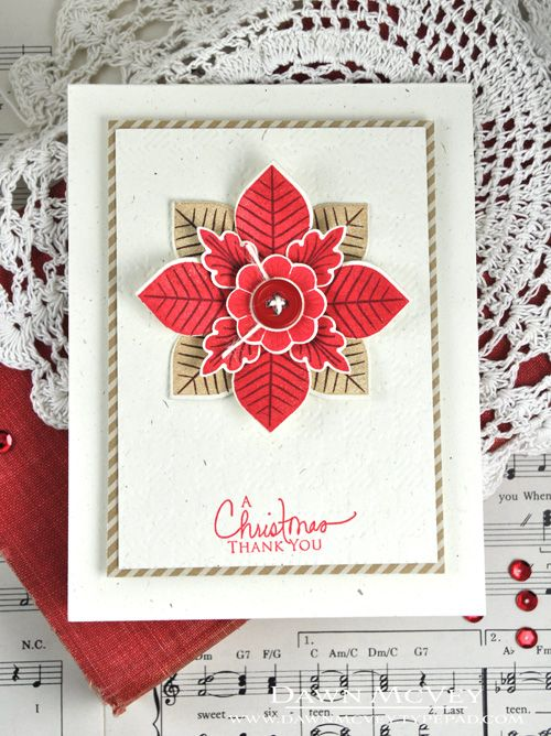 Christmas Thank You Notes December 2013, Dawn and December