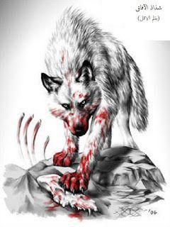 شذاذ الآفاق Anime Wolf Fantasy Wolf Wolf Pictures