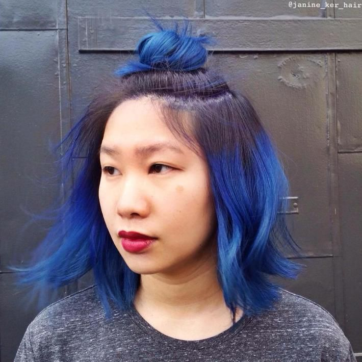 40 Fairy Like Blue Ombre Hairstyles Ombre Hair Blue Tips Hair Ombre Hair Color