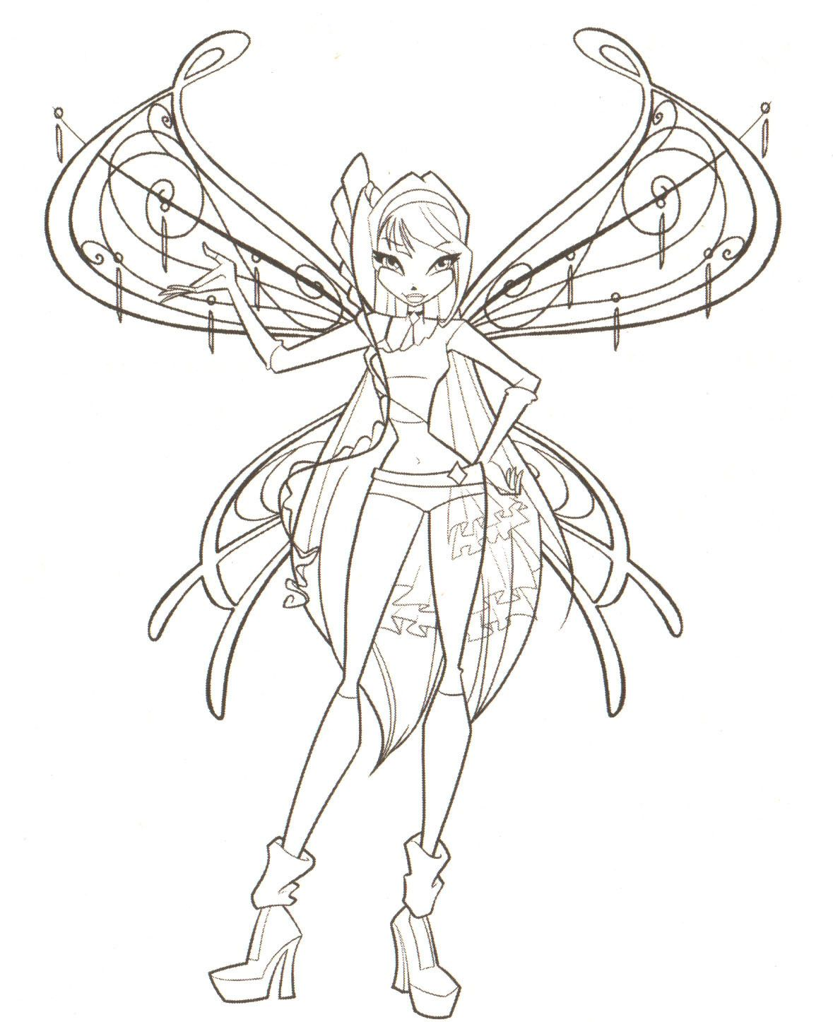 The Winx Club Photo Coloring Pages Coloring Pages For Girls Coloring Pages Cartoon Coloring Pages
