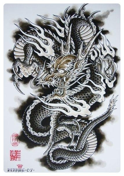 Korean Dragon Tattoo Meaning: Japanese Dragon Tattoos, Asian Dragon