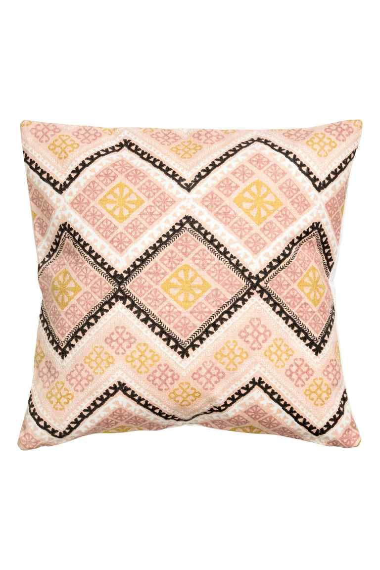 Patterned cushion cover | Kitchen/lounge in 2019 | Pink ...