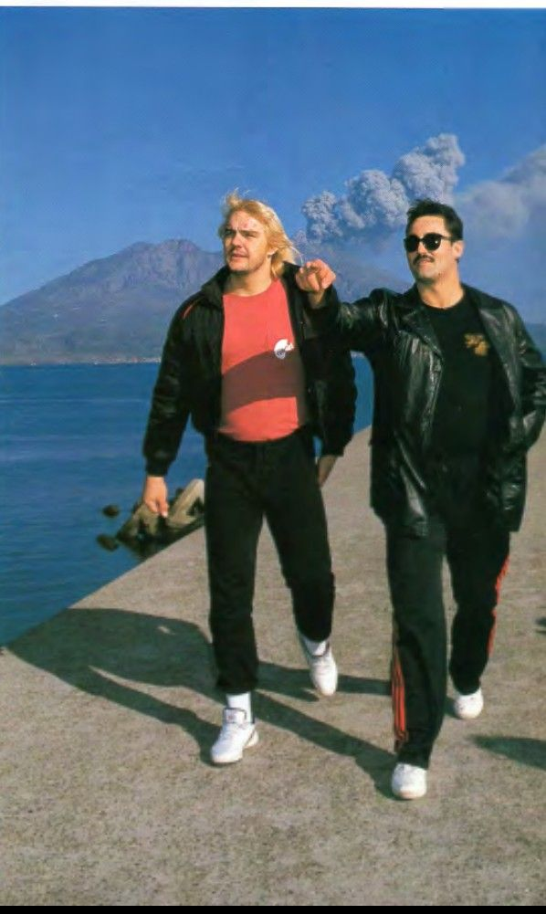 Barry Windham and Mike Rotunda JAPAN | Pro Wrestling from