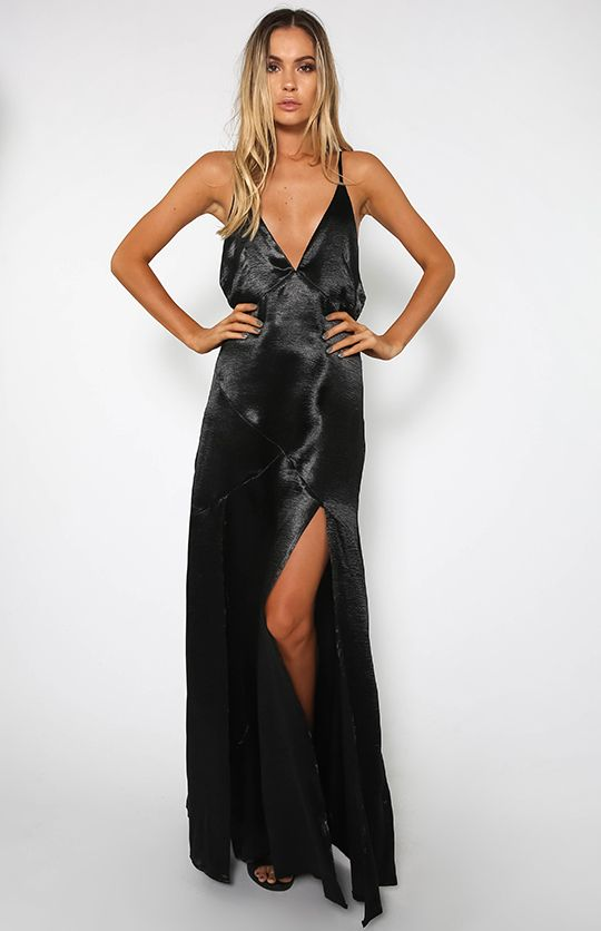 Kent Dress - Black | Back In Stock | Peppermayo