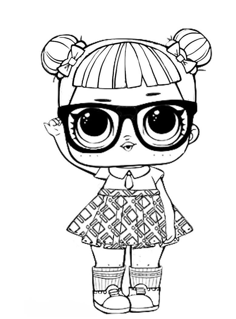 Кукла ЛОЛ в школе | Раскраски, Принцесса раскраски, Феи ...
