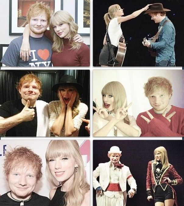 Taylor Swift and Ed Sheeran's friendship is the cutest thing