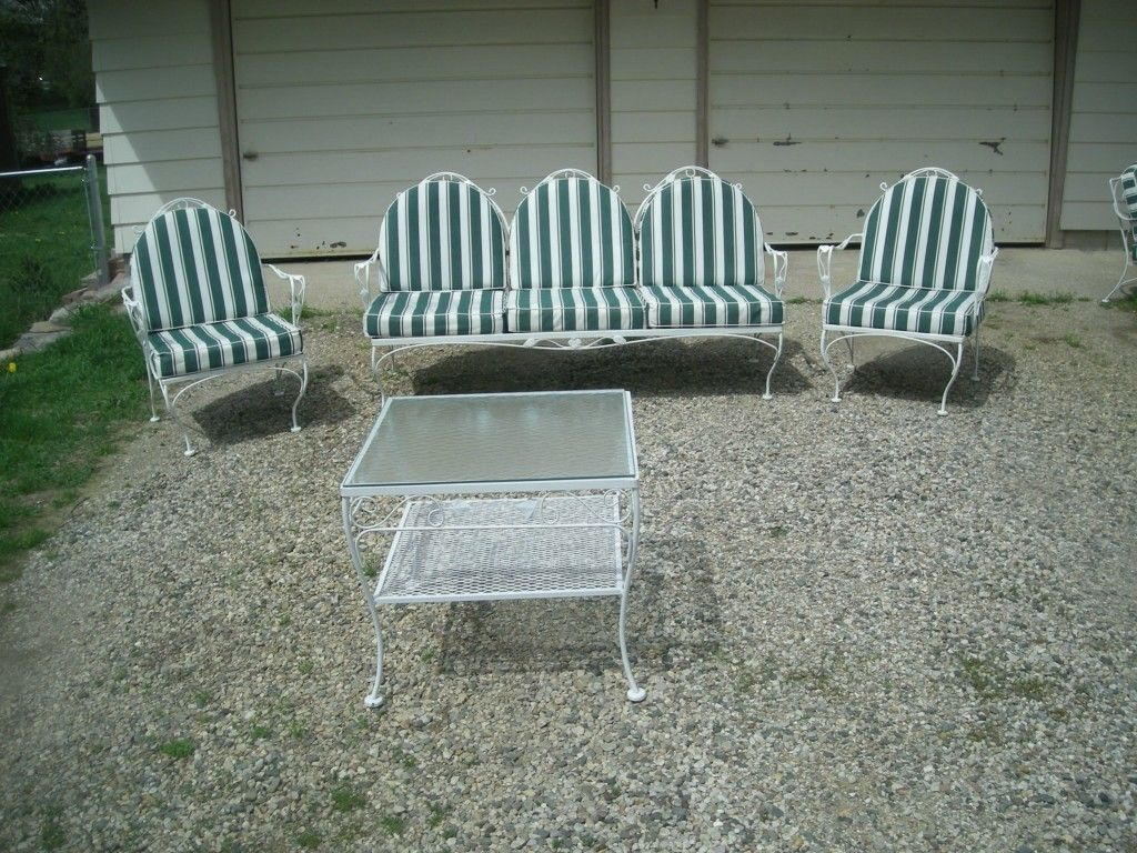 Meadowcraft Vintage Patio/Yard Furniture Set