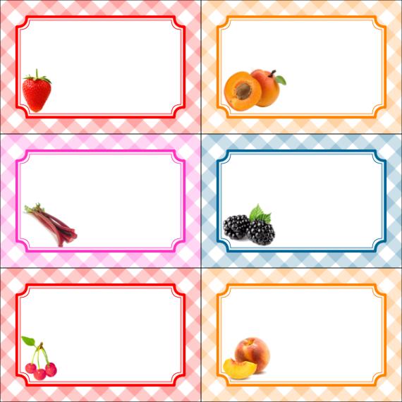 Tiquettes de confiture gratuites personnaliser et - Combien de sorte de tomate ...